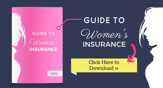 women insurance gen ads image