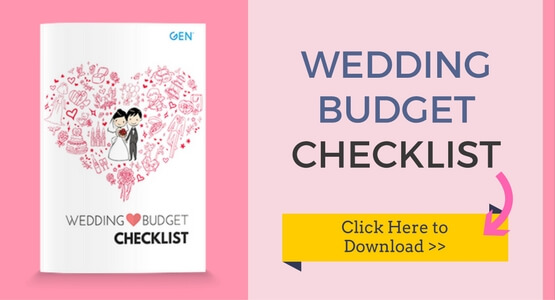 wedding costs expenses how to create a budget gen